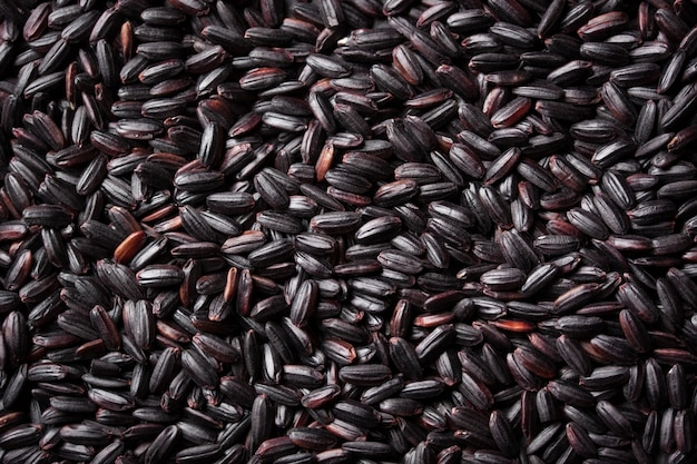 Black dry rice