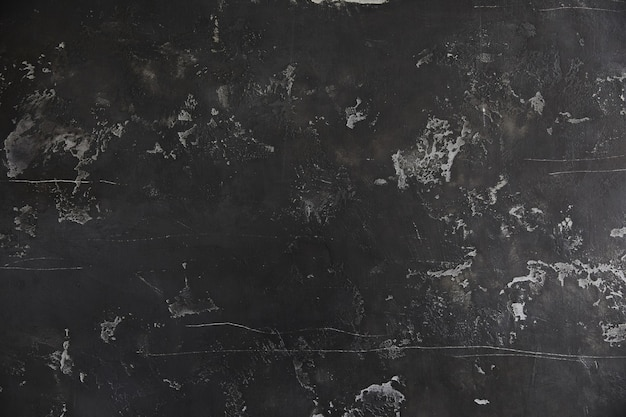 Black dusty texture, uncleaned chalkboard background.