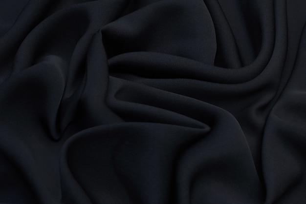 黒い布のドレープ