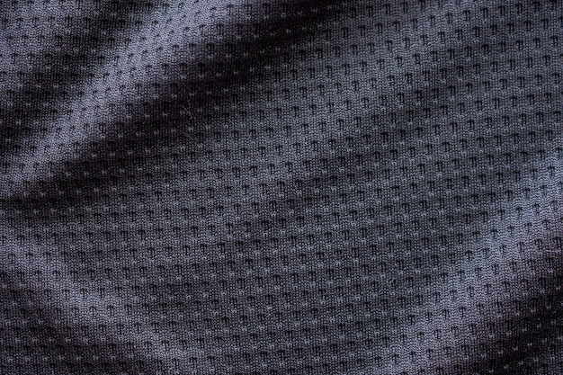 Black fabric sport clothing texture