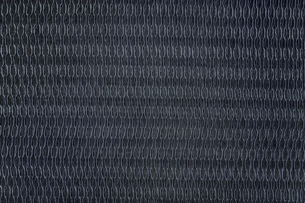 Black fabric with a textured background