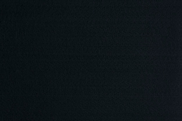 Черный войлочный фон, текстура ткани