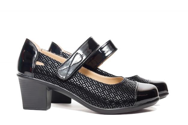 Black female shoes