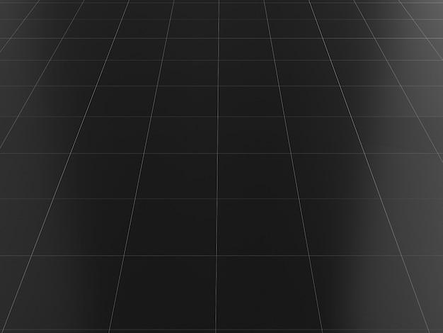 Black floor marble clean ceramic tile 3d render  texture