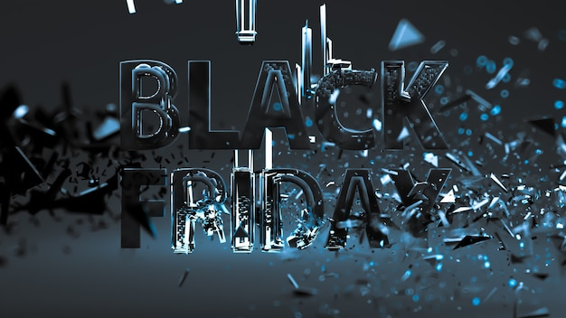 Black friday background, lettering on dark background. develop a template, layout, banner, booklet, poster.