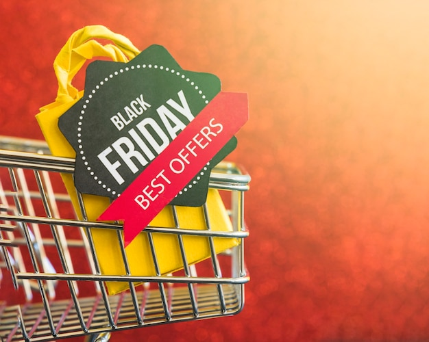 Black friday best offers inscription