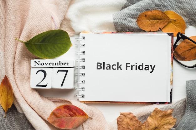 Черная пятница день осеннего месяца календаря