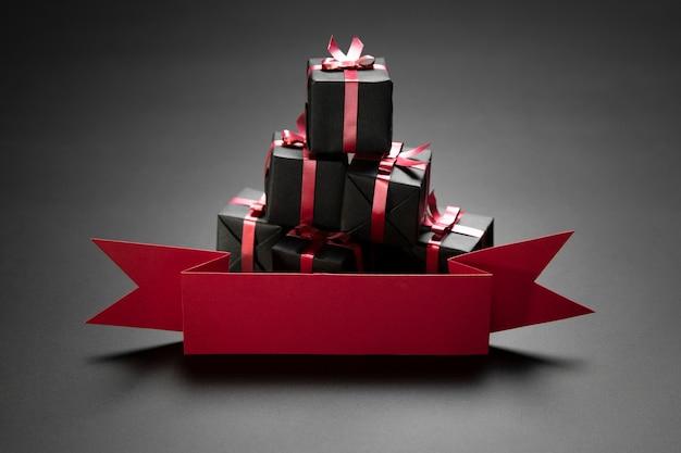 Ассортимент подарков черной пятницы