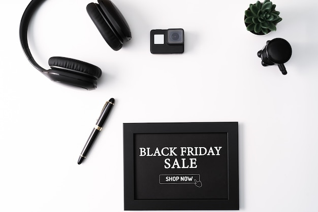 Black friday sale composition