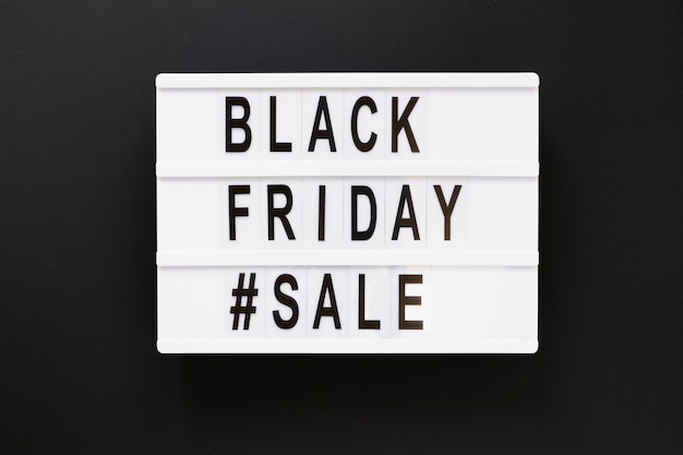 Black friday sale light box