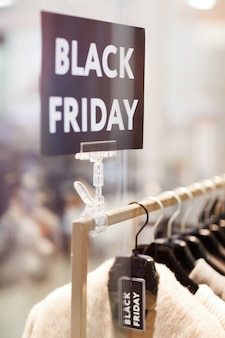 Черная пятница продажа знак