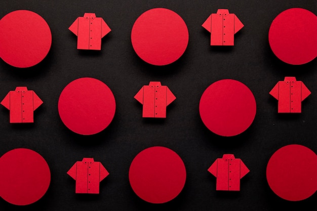 Черная пятница рубашка и концепция точек