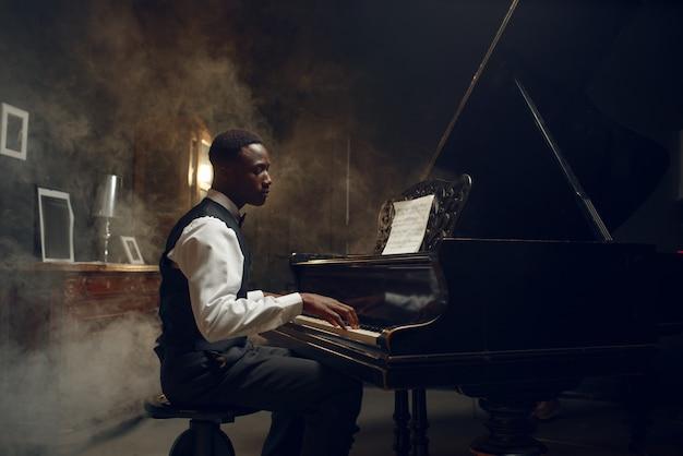 블랙 그랜드 피아노 연주자, 재즈 연주