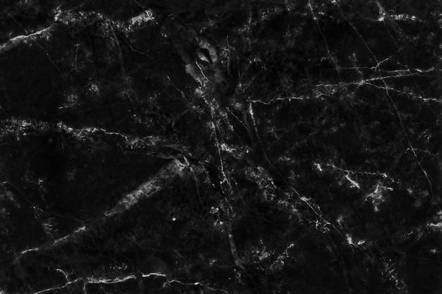 黒灰色の大理石のテクスチャ背景、自然なタイルの石造りの床のトップビュー