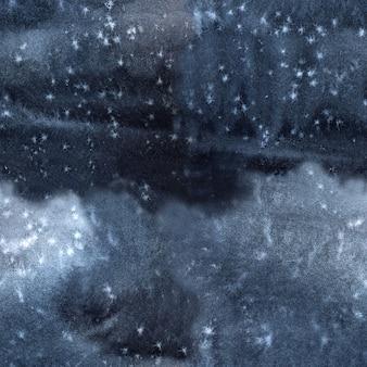 黒灰色の濃い青の背景とネクタイ染料のテクスチャ
