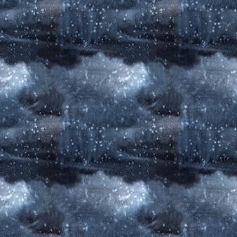 ブラック グレー ダーク ブルー背景とタイダイ テクスチャ
