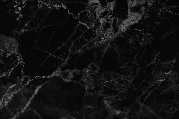 Black grey marble texture background in natural pattern