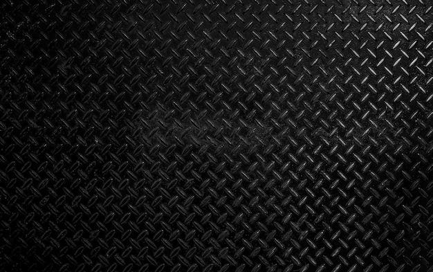 Черная гранжевая металлическая текстура