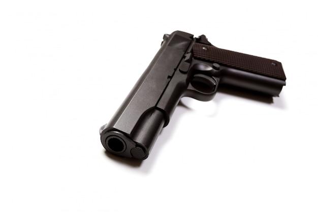 Черная ручная пушка