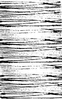 白い紙に黒いインクの線水平の未来的なトラック