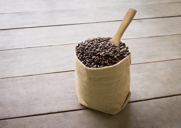 Nero italiano biancheria caffè paletta