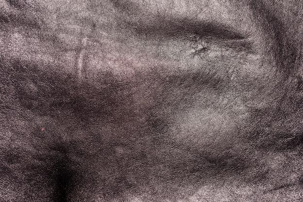 豊かな質感のディテールと黒革の背景
