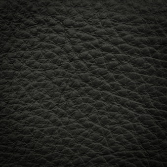 Black leather macro shot