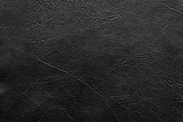 Черная кожа текстура и фон