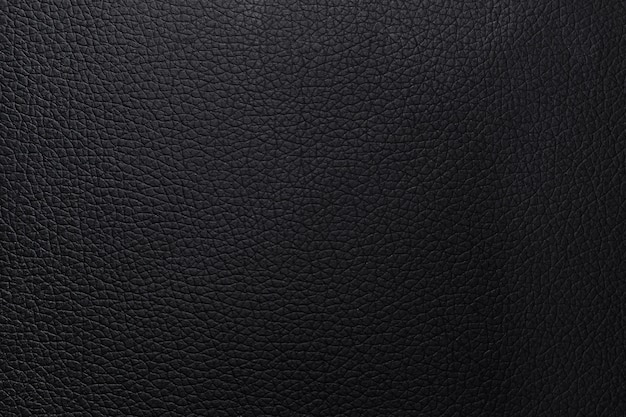 Black leather texture background. closeup wallet abstract material pattern or luxury bumped animal skin.