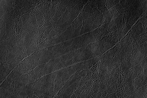 Black leather texture and background