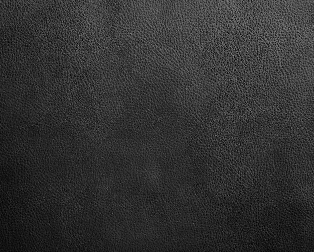 Черная кожа текстура фон