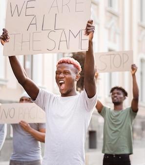 Black live matter protest