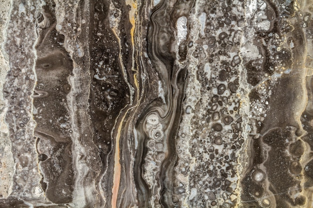 Black marble abstract background pattern with high resolution