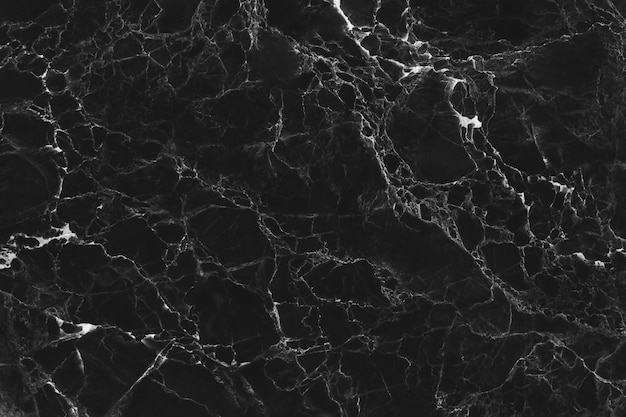 Черная мраморная текстура для фона или декоративного дизайна пола плитки.