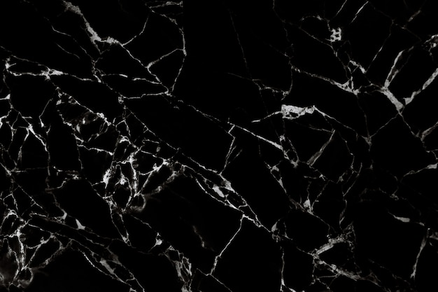 Black marble texture with natural pattern