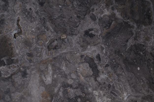 Черная мраморная текстура с естественным рисунком
