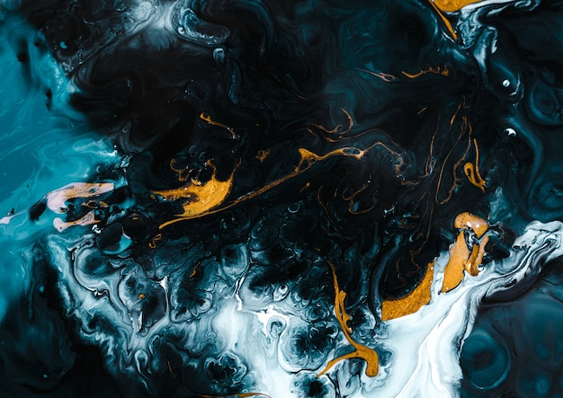 Черный мрамор с золотым и белым миксом текстура золотого мрамора с множеством ярких контрастных прожилок