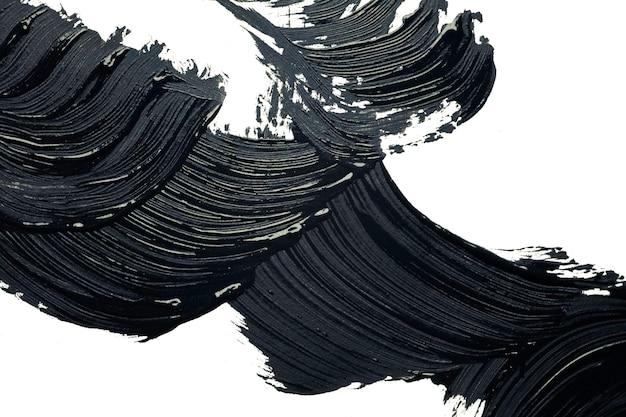 Black matte mascara for eye lashes or eye liner texture background
