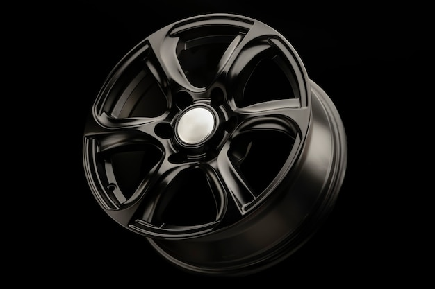 Suv 차량용 블랙 매트 강력한 알로이 휠