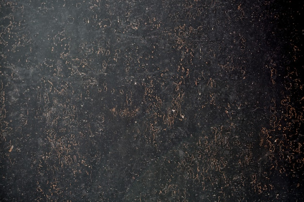 Black metal corroded texture