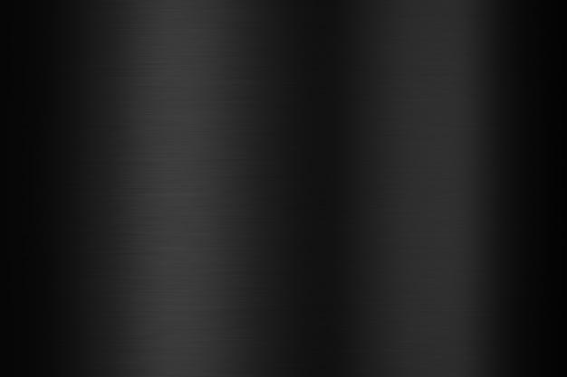 Черная металлическая стальная пластина и металлическая текстура на темном фоне с блестящей поверхностью из нержавеющей стали. 3d-рендеринг.