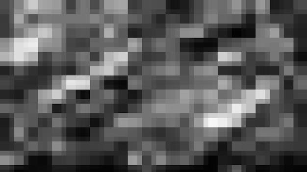 黒のモザイク抽象的なテクスチャ背景、グラデーション壁紙のパターン背景