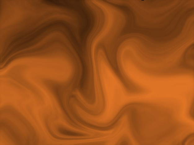 Black and orange abstract liquify effect background