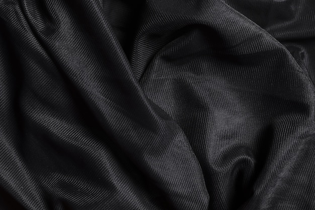 Black ornament indoors decor fabric material