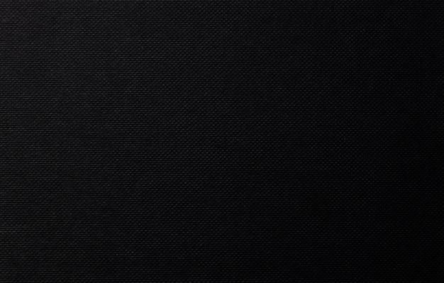 Black paper background, canvas texture