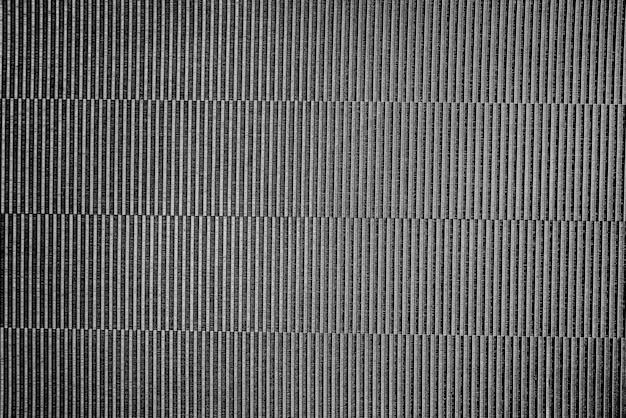 Black patterned fabric background