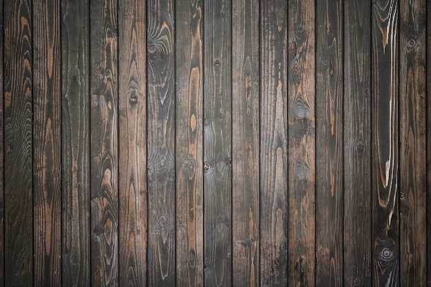 Black pine wood wall texture