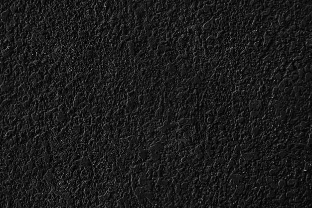 黒のプレーンコンクリートテクスチャ背景