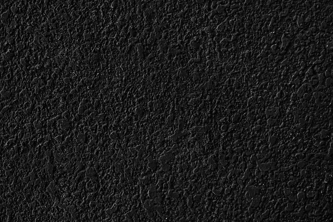 Black plain concrete textured background