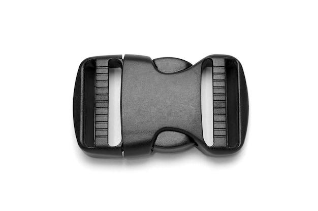 흰색 배낭 용 검은 색 플라스틱 fastex 클립